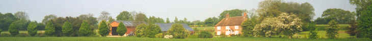 Panorama of Fishers Farm